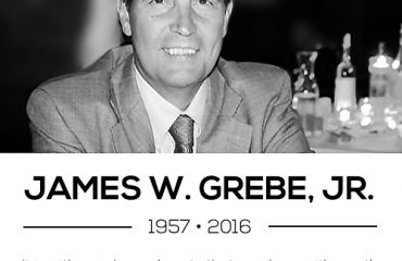 James Grebe passes at 58