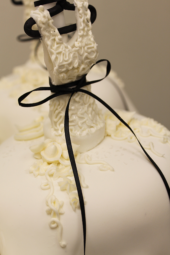 wedding cake from Grebe's