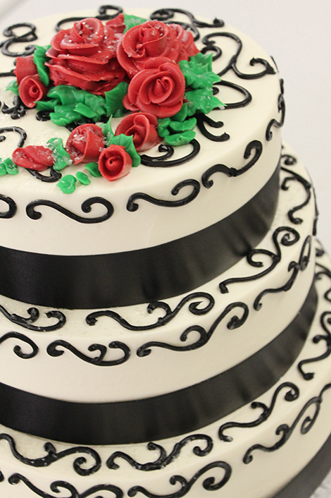 beautiful cakes from Grebe's Bakery