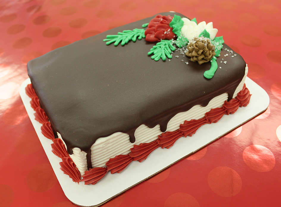 christmas cake at grebe's